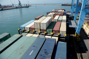 Imported Containers for Customs Examination